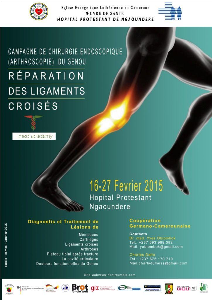 Workshop de Chirurgie Endoscopique (Arthroscopie) du Genou et Reconstruction des Ligaments Croisés