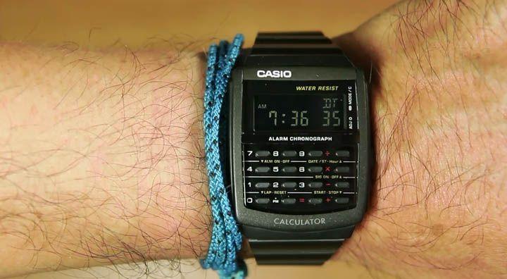 Review Casio Standard CA-506B-1A