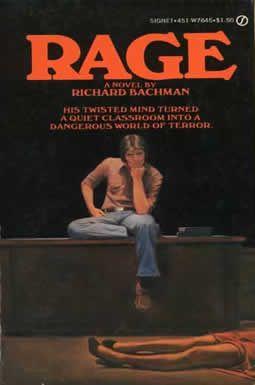 """zi vorbim despre """"Furia"""", dar de data asta nu e vorba de furia mea, nu e Orghidan pe felie. Vorbim de cartea cu acelasi nume, scrisa de Stephen King. La origine poarta numele de """"Rage""""si a fost scrisa sub pseudonim, Richard Bachman. Cartea aceasta, este prima carte a acestui autor"""