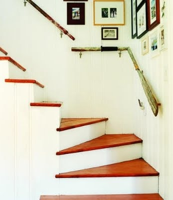 oars as handrails
