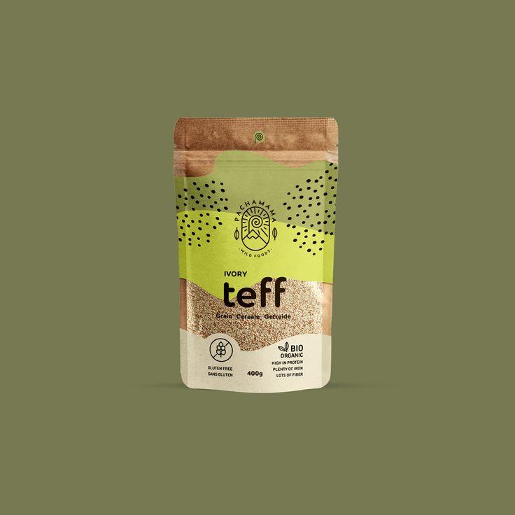 Design | Packaging | Pachamama – Teff – branding b…