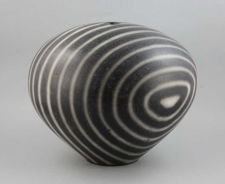 Tim Andrews | A large globular Pot, 2001: Ceramics Black, Ceramics Art, Ceramics Pottery, Vessel, Ceramic Pottery, Andrew Ceramics, Ceramics Glasses Pottery