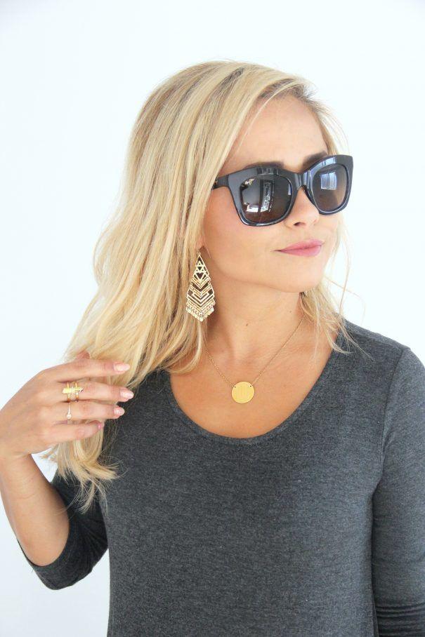The Maui Jim Coco Palms sunglasses.  Celebrity sunglasses.  #enjoytheview #styledbylittlemissmomma