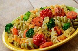 Poze Fusilli cu legume