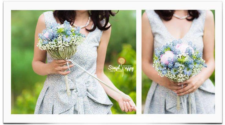 Spring Fairy Dream Bridal Bouquet www.simplyhappy.ro / www.facebook.com/faitamain