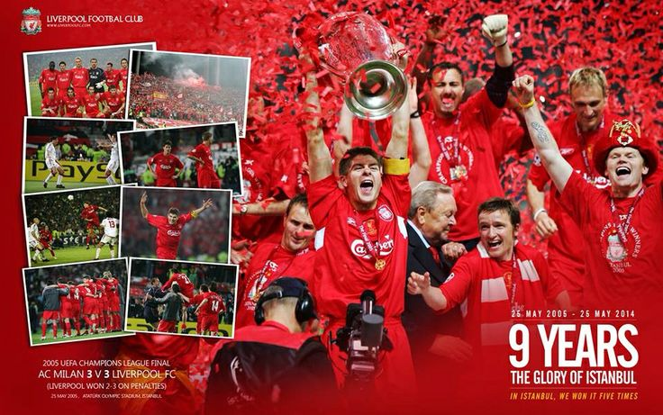 9 years ago today Liverpool FC staged the greatest comeback in Champions League history to win it for the 5th time on a magical evening in Istanbul.