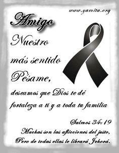 Tarjetas De Condolencias Para Facebook | Creado por Yamita para www.yamita.org