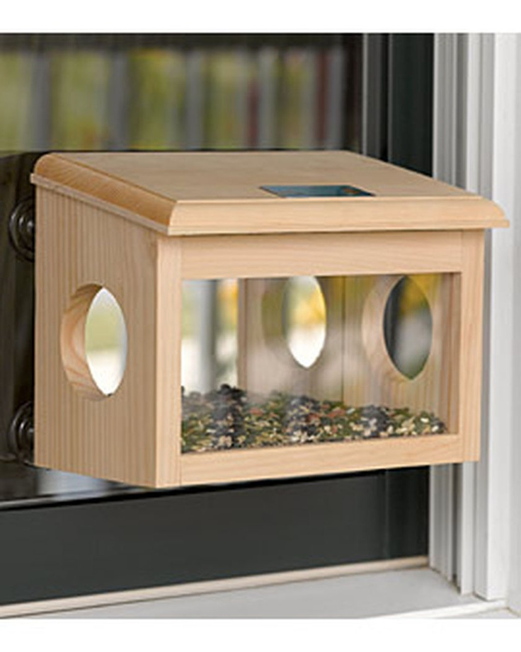 2 way mirrored window bird feeder