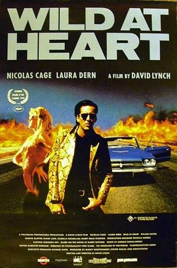 "Wild at Heart - David Lynch 1990 - - Palme d'Or Cannes Film Festival -- ""Young lovers Sailor and Lula take off for New Orleans, with Lula's hysterical ..."
