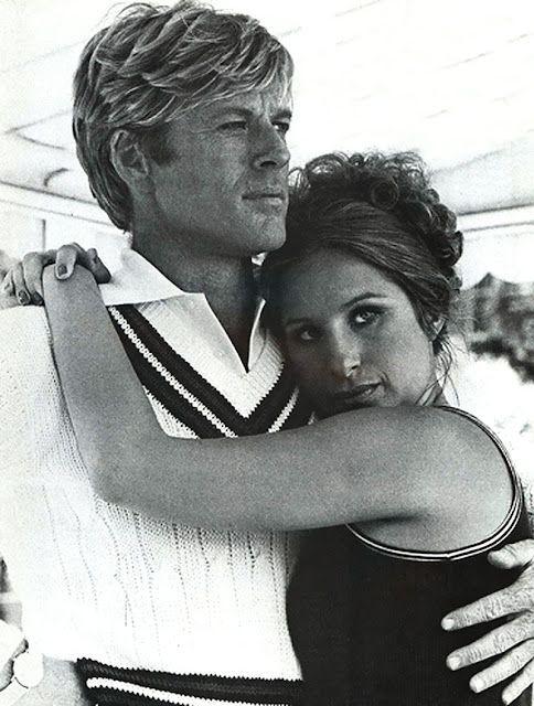 Robert Redford and Barbra Streisand.: Film, Great Movie, Barbara Streisand, Robert Redford, Brad Pitt, Funny Girls, Classic Hollywood, Favorite Movie, Barbra Streisand