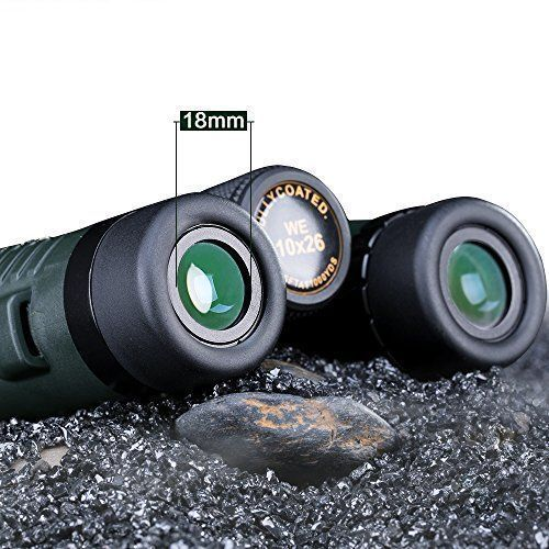 USCAMELÂ HD Binoculars Military Green 10x26 Long Range 5000m Professional