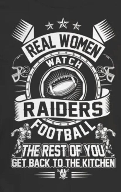 Real women watch Raiders football