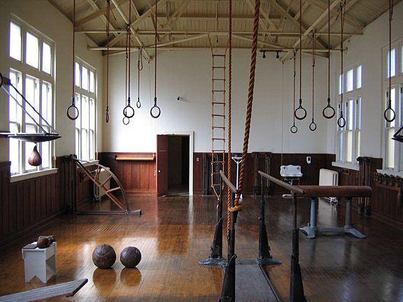 Elegant Antique Gym Equipment