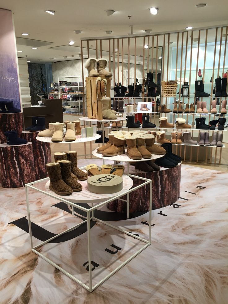 Welcome to take a look at our new amazing UGG pop up at women's shoe department!   Image captured at Stockmann Helsinki flagship store
