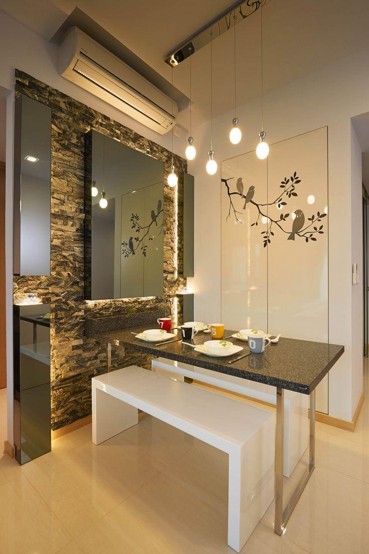23 Terrasse Lane, Modern Condominium Interior Design, Dining Area.