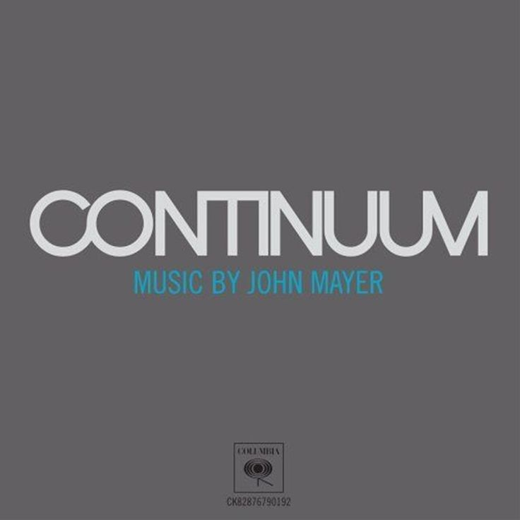 John Mayer - Continuum on Vinyl 2LP
