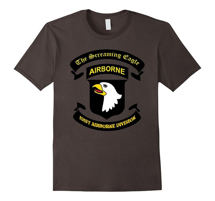 The Screaming Eagle 101st Airborne Division Veteran T-Shirt
