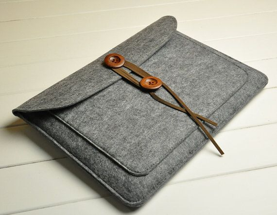 Macbook felt case Macbook case 13 Macbook case 13inch air by feltk, $26.00
