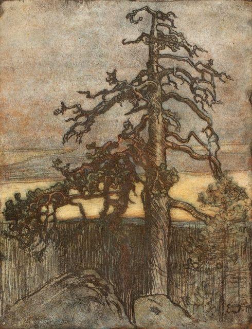 EERO JARNEFELT (1863-1937) Dead Pine