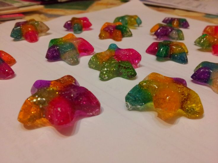 Pony bead, silicone mold, star