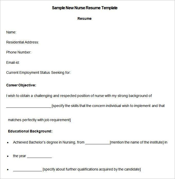 Best 25+ Rn resume ideas on Pinterest Nursing cv, Student nurse - current resume examples