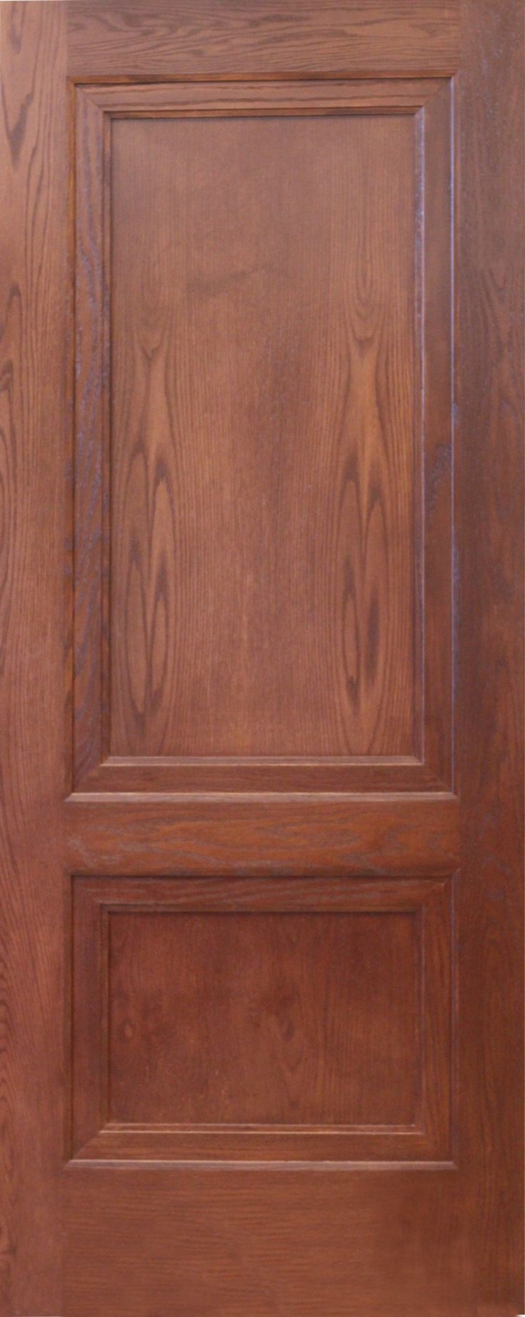 Rustic wood interior doors - Layered 2 Panel Oak Interior Door Adds Depth Customized Statement Doors Fully Customized Interior