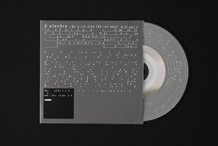 —Autechre – Quaristice design by tDR
