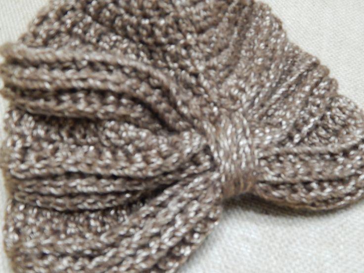 Precioso Turbante en Crochet Facil y Bonito