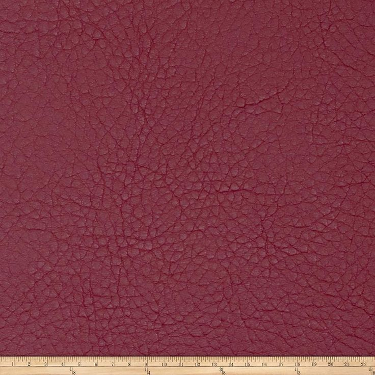 "Fabricut Oxide Faux Leather Berry from @fabricdotcom  This fleece-backed faux leather fabric can be used for upholstery projects, picture frames, accent pillows, headboards, ottomans and poufs. California residents click <a href=""http://prop65.fabric.com/"">here</a> for Proposition 65 information.  Fabric features 200,000 double rubs."