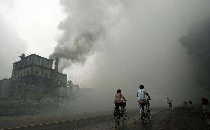 0010 contaminación en China2 Urban Distopy Imagenes de la