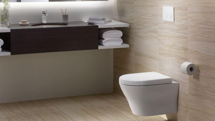 MH Wall-Hung Dual-Flush Toilet 1.28 GPF & 0.9 GPF D-Shaped Bowl - TotoUSA.com