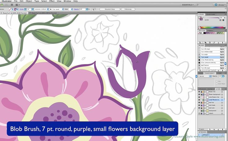 Ink & Paint: Calligraphic Illustrator Brushes, free two hour class if you subscribe
