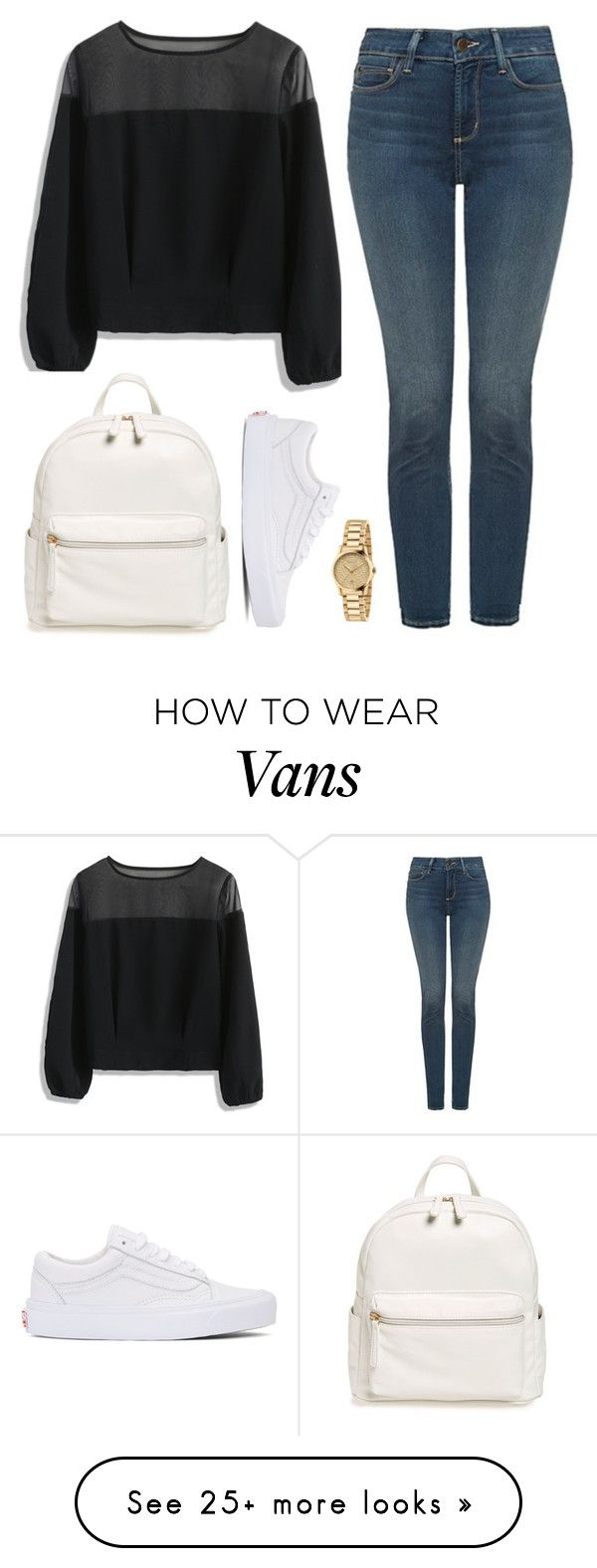 """""""Untitled #418"""" by rooliel on Polyvore featuring Chicwish, NYDJ, Vans, BP. and Gucci"""