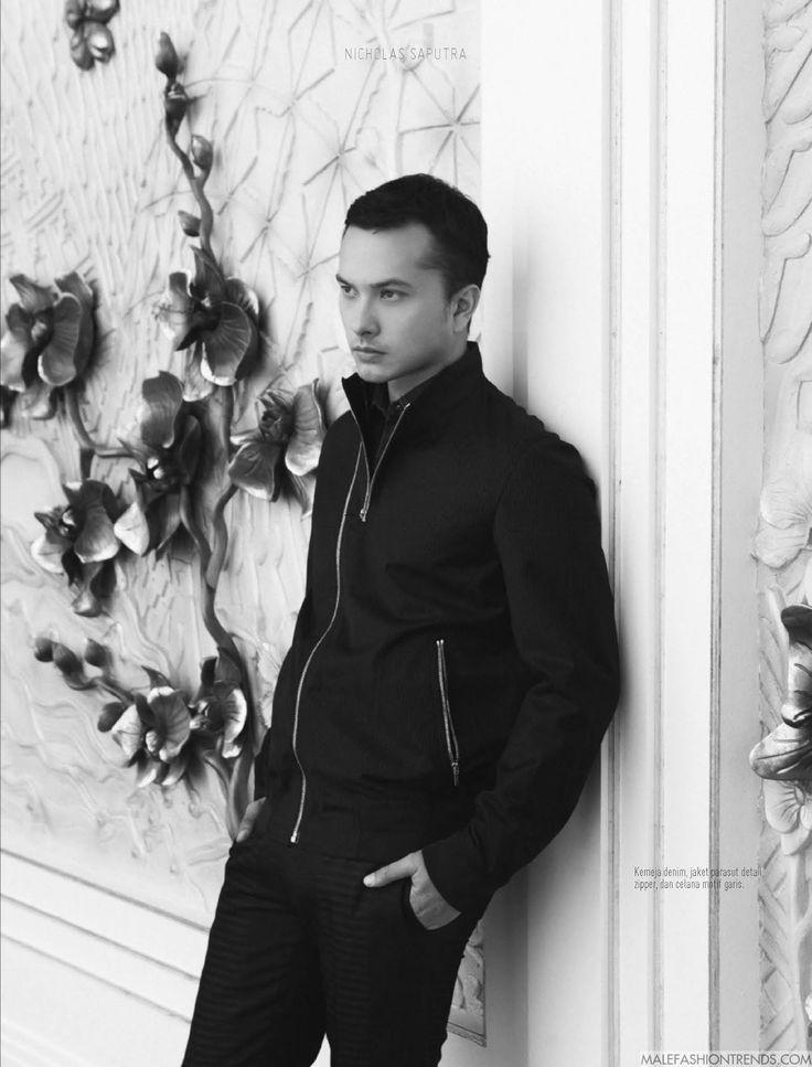 Nicholas Saputra para August Man Indonesia Septiembre 2016