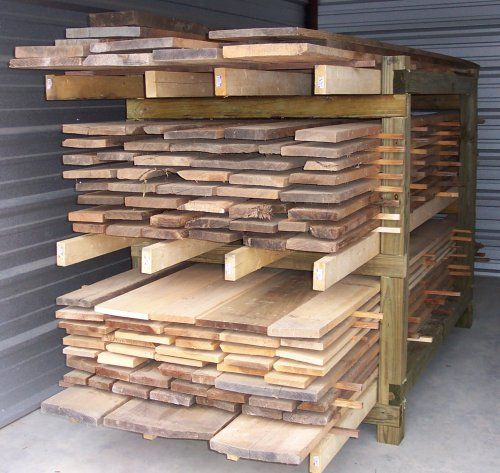 Best 25 lumber storage ideas on pinterest for Lumber yard storage racks