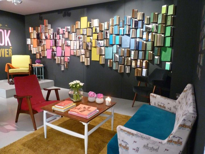 3D Wall Art Retail Display -- Get creative, try shoes, handbags, shopping bags...so many ways to make this your own!