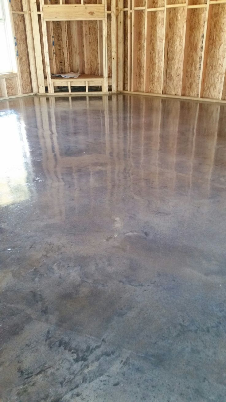 Stained Concrete Quot Titanium Gray Quot Stained Concrete