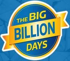 Flipkart Big Billion Days Sale deals list! Flipkart Big Billion Days Sale with upto 80% discount + 10% Off with SBICards& PhonePe. Exchange & No Cost EMI.