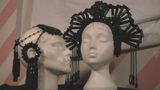 As part of my couture collection I need to produce a series of Art Nouveau/ Art Deco inspired headdresses to really accessorise the garments; I had a bash at it rather than employing a milliner and spending huge sums of money and the resulting headdresses look fabulous, so I figured I would create a tutorial for it. Hope you enjoy. This is part 1 of a series.