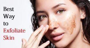exfoliate skin #acnescarshowtogetridof