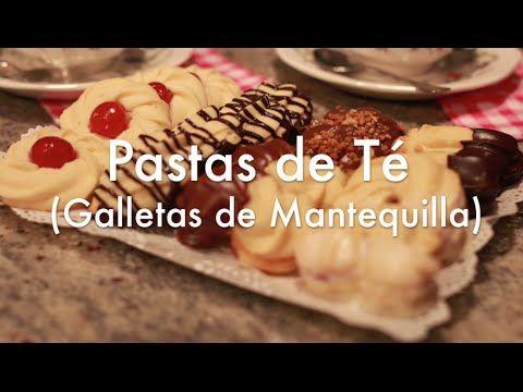 Cómo hacer Galletas de Mantequilla o Pastas de Té - YouTube