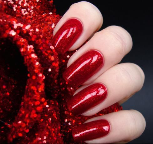 This is Me ~ RED NAILS and TOENAILS ~ THIS IS WHAT I HAVE ON RIGHT NOW! IN FACT THEY ARE ALMOST THE SAME LENGHT