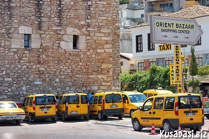Taxi's, Kusadasi.