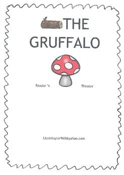 Reader's Theater for the book 'The Gruffalo' by Julia