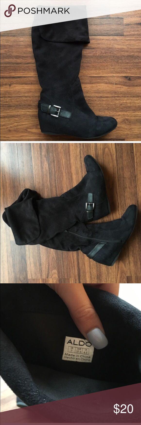 ALDO boots Great condition. Small wedge heel. Very comfy. Aldo Shoes