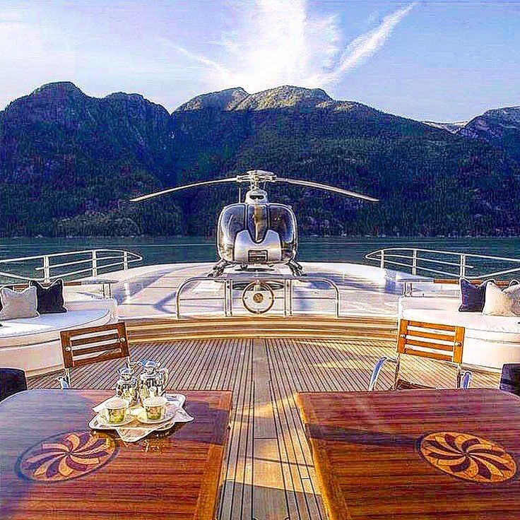 opulentmondeA perfect day under the winter sun, who would you spend it with http://bit.ly/2rqePhB  #yacht #winter #sun #luxury #traveler