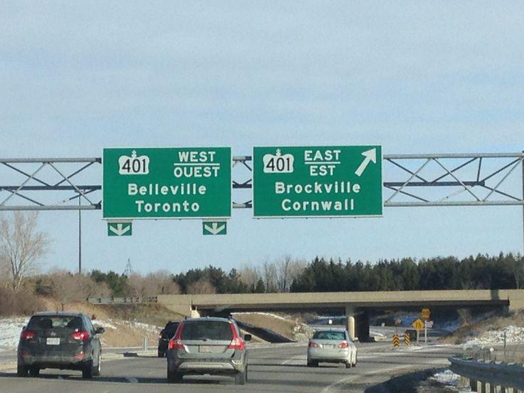 メープル街道を東へドライブPart 1 キングストンからモントリオールまで