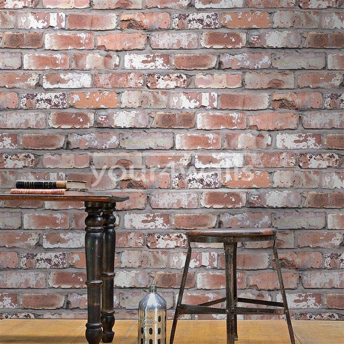 Brick Effect Wallpaper Bedroom Taupe And Blue Bedroom Single Bed Bedroom Designs Bedroom Ideas Cozy: Best 25+ Brick Effect Wallpaper Ideas On Pinterest