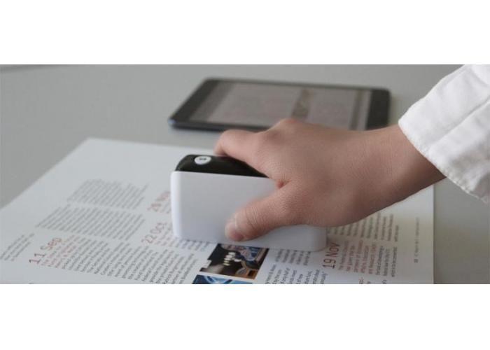 POCKETSCAN ¿Cuántas veces ha estado fuera de casa en una cafetería o en la carretera cuando se necesita para escanear un documento a su equipo? Bueno, ya no se necesita para transportar alrededor de un escáner de 20 libras con usted dondequiera que vaya. El Dacuda PocketScan es un escáner de documentos que es aproximadamente del tamaño de una cámara desechable y se inserta perfectamente en un bolsillo, bolso, mochila o bolso para utilizar fácilmente cuando sea necesario.  Precio $3,037.15