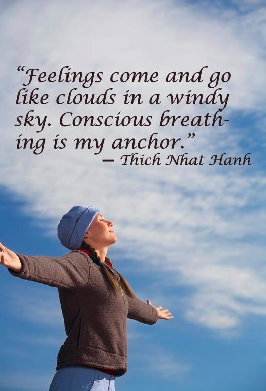 conscious breathing is my anchor thich nhat hanh
